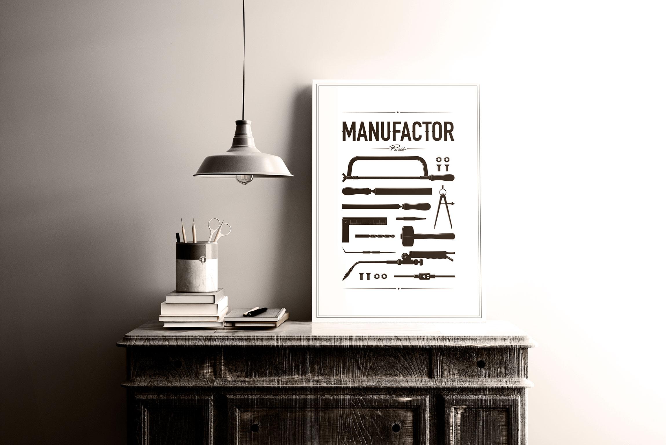 Création affiche MANUFACTOR