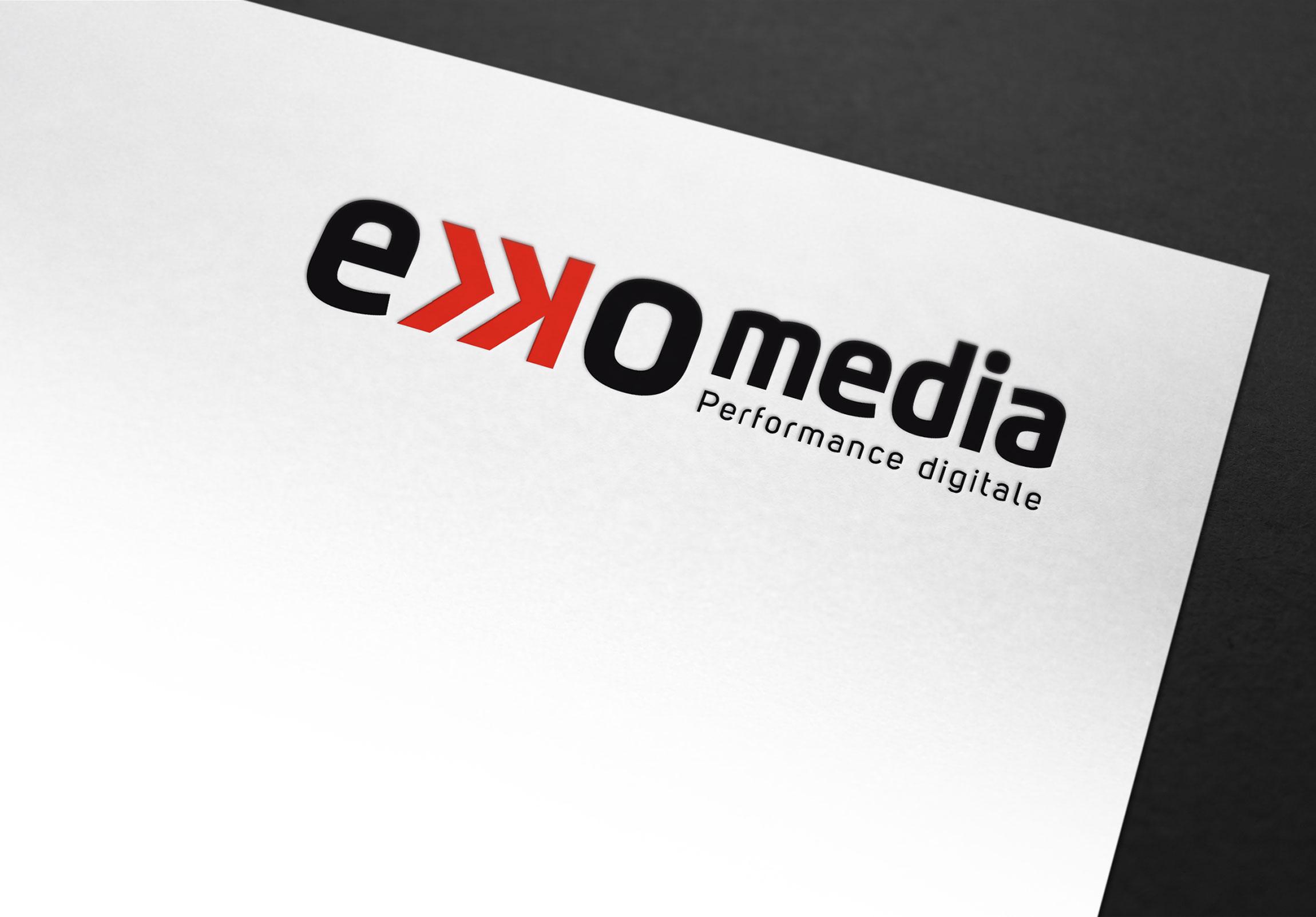 en-tête de lettre Ekko Média