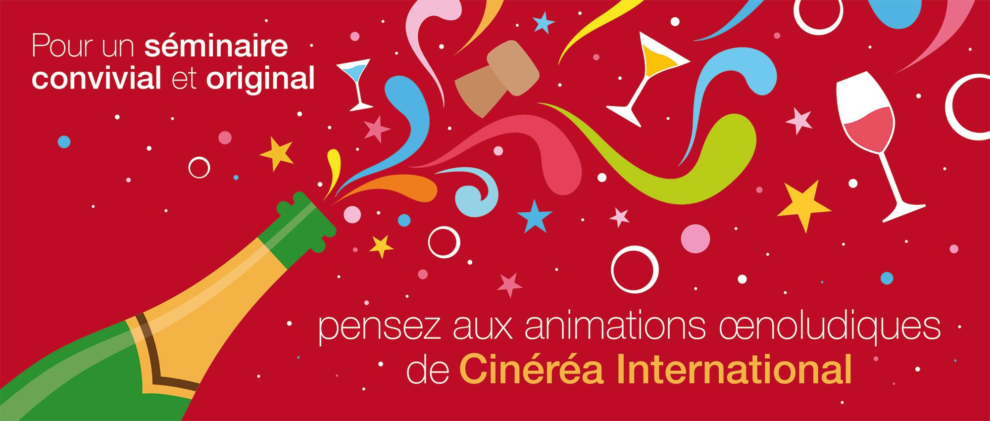 Illustration plaquette Cinéréa international news