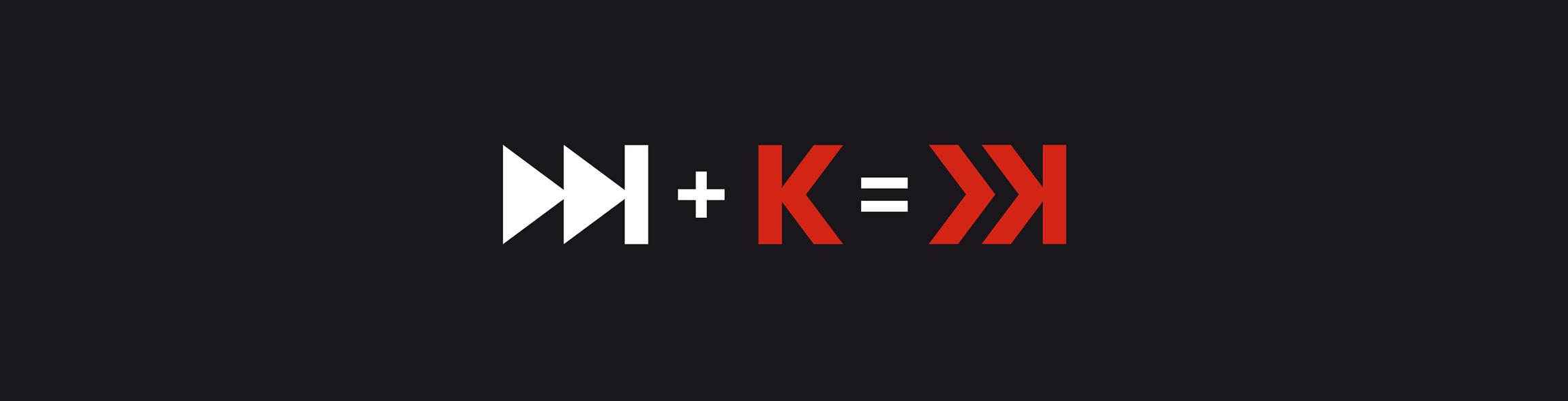 logo Ekko Média - principe de création