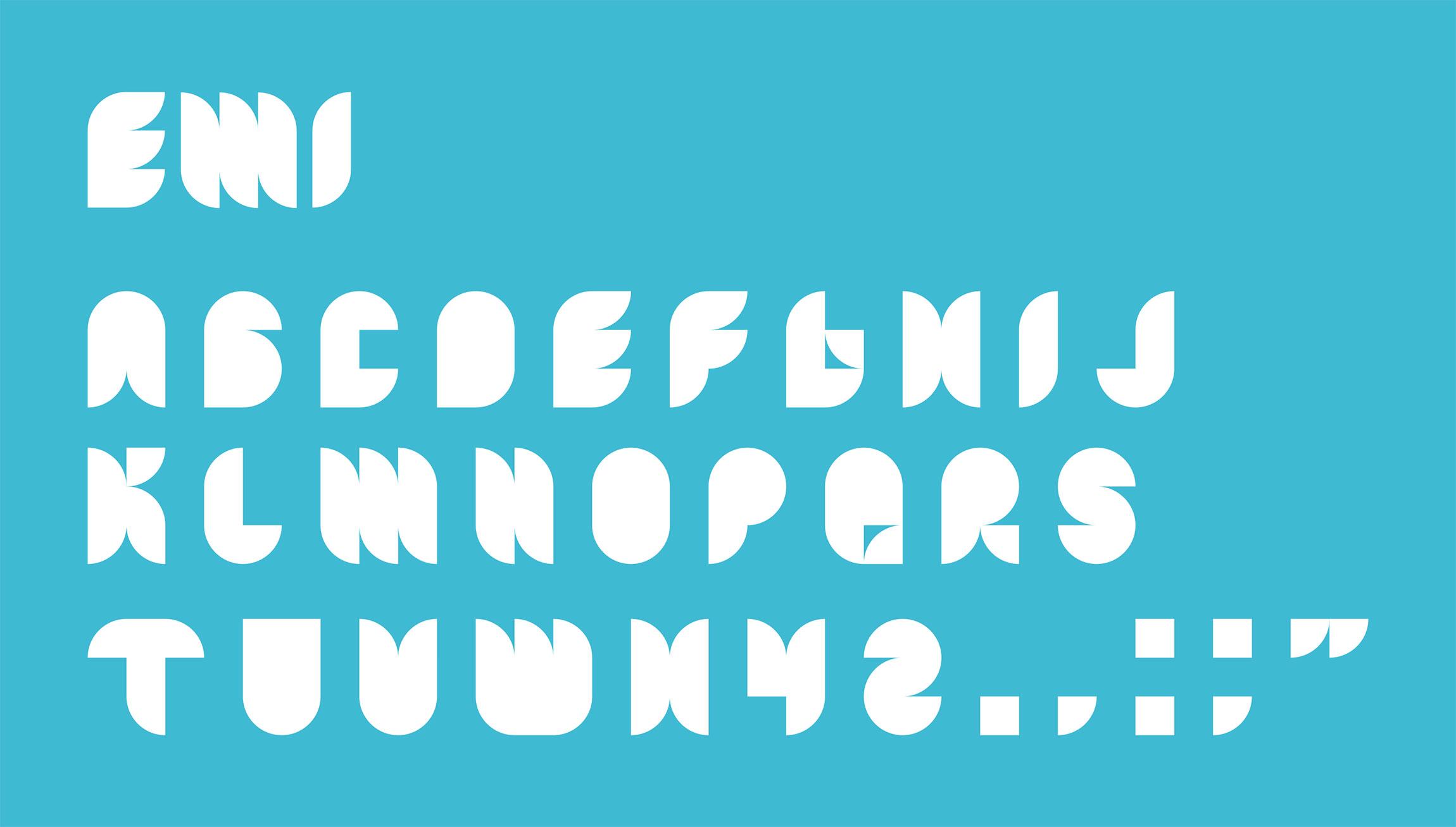 Création typographie EMI Design Fashion