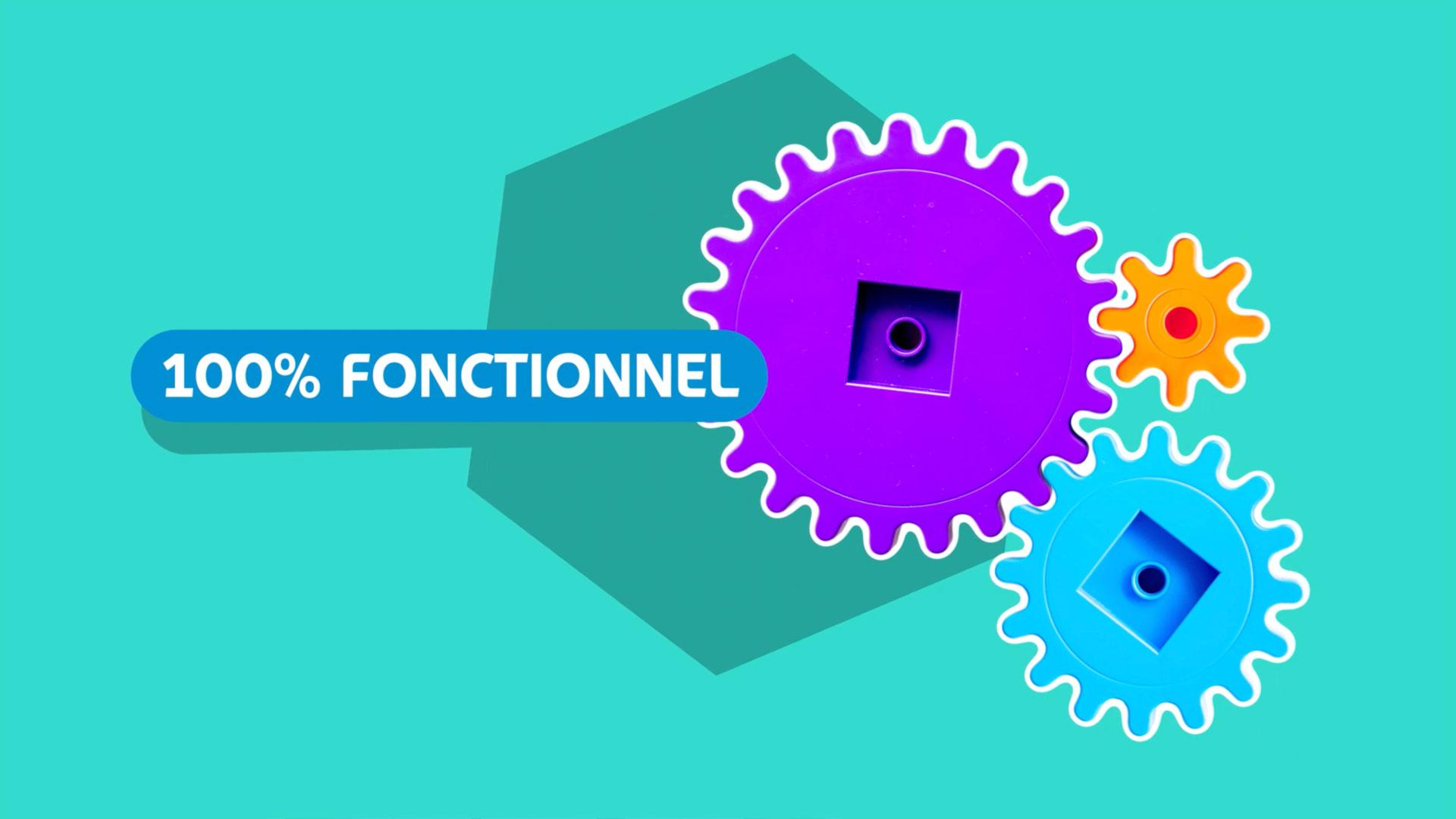 """Motion design, conception film promotionnel """"Nouvel Espace client"""" Edenred"""