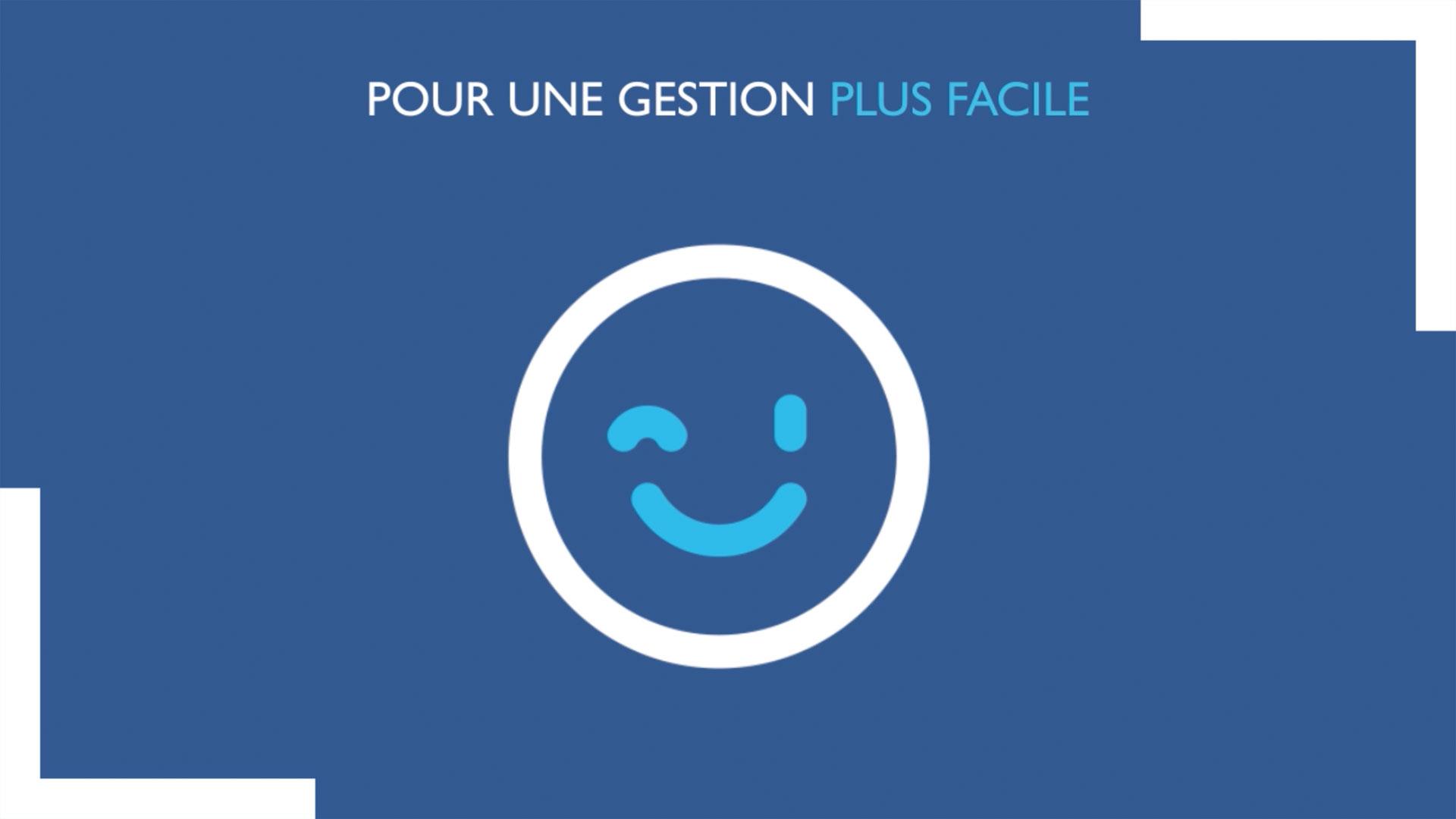 """Motion design, conception film explicatif """"Le Coffre Fort Numérique"""" pour Banque Populaire"""