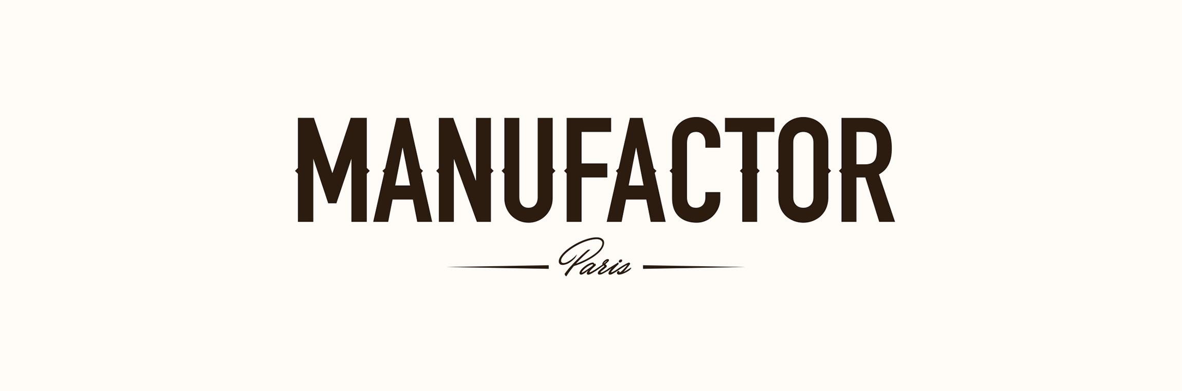 Création logo MANUFACTOR